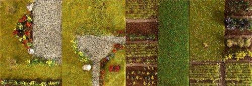 FALLER FA180477 - Landschafts-Segment Wiese mit Findlingen