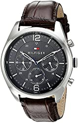 Tommy Hilfiger Men's 1791184 Sophisticated Sport Analog Display Quartz Brown Watch