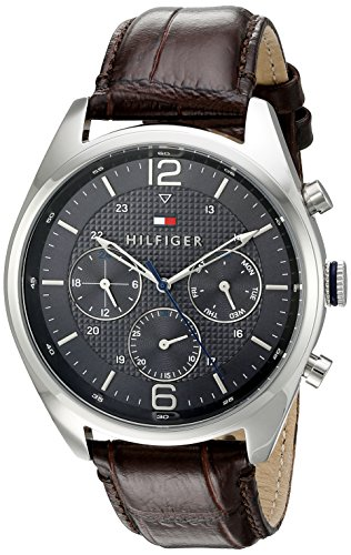 Tommy-Hilfiger-Mens-1791184-Sophisticated-Sport-Watch-With-Brown-Leather-Band
