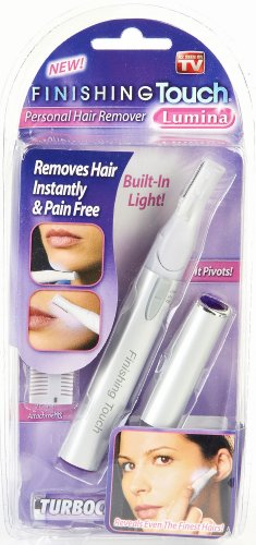 Finishing Touch Lumina Lighted Hair Remover with Pivoting Head (754502021017)