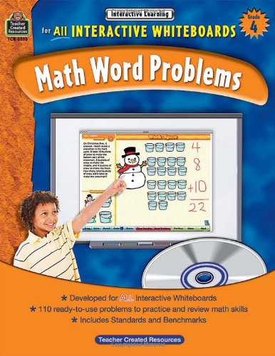 Math Word Problems for All Interactive Whiteboards, 