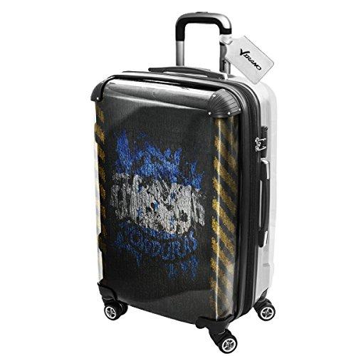 Bandiere Firmata Honduras, Luggage Valigia Bagaglio Ultraleggero Trasportabile Rigido con 4 Route e Disegno Intercambiabile. Dimensione: Grande, L