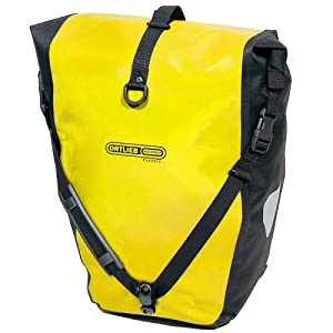 Ortlieb Back Roller Classic Bag - Pair Yellow - Black 40L