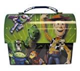 Disney Buzz Woody and the Gang Green DomeToy Story Lunch Box- Toy Story Tinbox - Toy Story Box