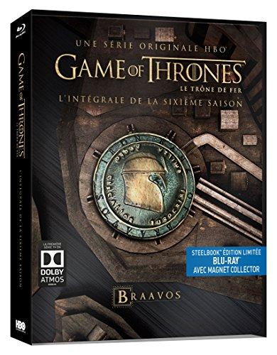 Game of Thrones (Le Trône de Fer) - Saison 6 [Édition collector boîtier SteelBook + Magnet]