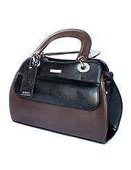 Designer Branded Faux Leather Ladies Handbag Shoulder Bag - B00KMUBKRU