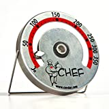 CHEF Wood Oven Thermometer - CELSIUS (3-32). Wood-fired ovens make wonderful breads, pizza, and casseroles but monitoring your temperatures isn't easy--unless you have an oven thermometer designed specifically for wood-ovens.