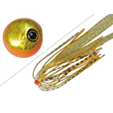 JACKALL(ジャッカル) ルアー ビンビン玉 スライド 45g オレンジゴールド/イカナゴールド