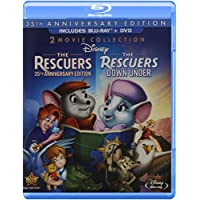 The Rescuers 35th Anniversary Edition Three-Disc on Blu-ray/DVD