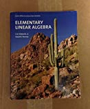 img - for Elementary Linear Algebra : Custom Edition for Arizona State University book / textbook / text book