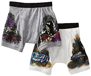 Fruit Of The Loom Boys 2-7 2-pack Batman Extended Leg Briefs Prints by Fruit of the Loom