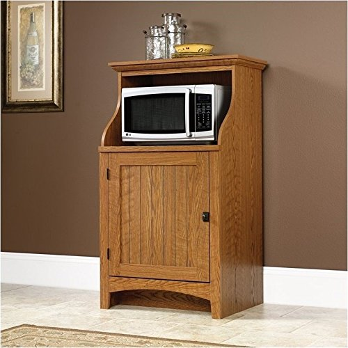 Sauder Summer Home Gourmet Free Standing Cabinet, Carolina Oak Finish (Sauder Pantry Cabinet compare prices)