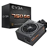 EVGA 750 BQ 80+ Bronze, 750W Semi Modular Power Supply 110-BQ-0750-V1