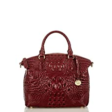 Duxbury Satchel<br>Carmine Red Melbourne