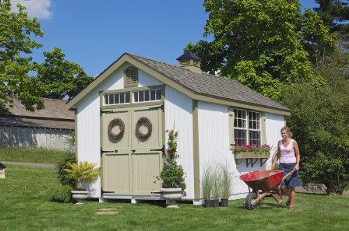 10 x 12 Williamsburg Colonial Garden Shed Panelized Kit