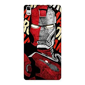Gorgeous Introduction Man Back Case Cover for Lenovo A7000