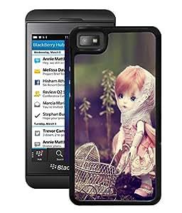 Fuson 2D Printed CuteDoll Designer Back Case Cover for BlackBerry Z10 - D729