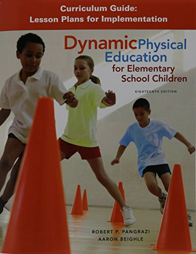 Dynamic Physical Education Curriculum Guide: Lesson Plans for Implementation PDF