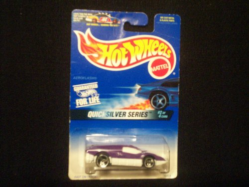 Hot Wheels Quicksilver Series 2/4 Aeroflash - 1