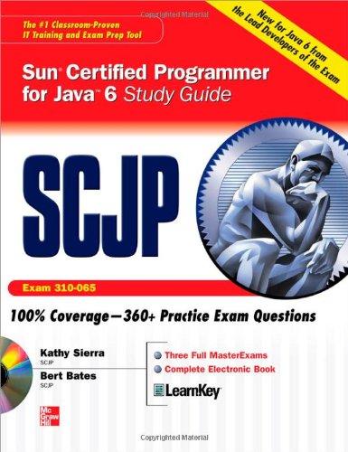 SCJP Sun Certified Programmer for Java 6 Exam 310-065