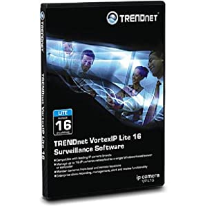 TRENDnet VortexIP Lite 16 Surveillance Software VIP-L16