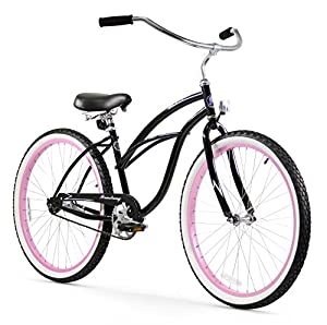 Firmstrong Urban Lady Single Speed Beach Cruiser Bicycle, 26-Inch