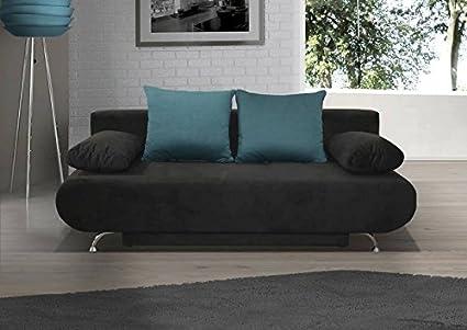 3er Sofa Rodrigo mit Staukasten und Bettfunktion - Abmessungen: 210 x 92 cm (B x T)