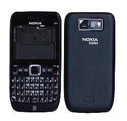 Nokia E63 Replacement Body Housing Front & Back Original Panel - Black