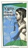 echange, troc Alfred de Vigny - Oeuvres poétiques