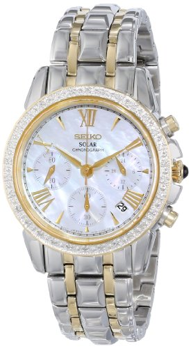 Seiko Le Grand Sport Solar Stainless Steel - Two-Tone Women's watch #SSC892