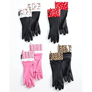 Click to buy Cool Kitchen Gadget: Gloveables Dish Gloves, Printed from Amazon!