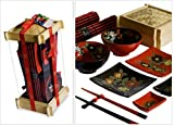 Sales! Ancestry Cookery 14 Piece Chinese Dining Set with Square Steamer for Two