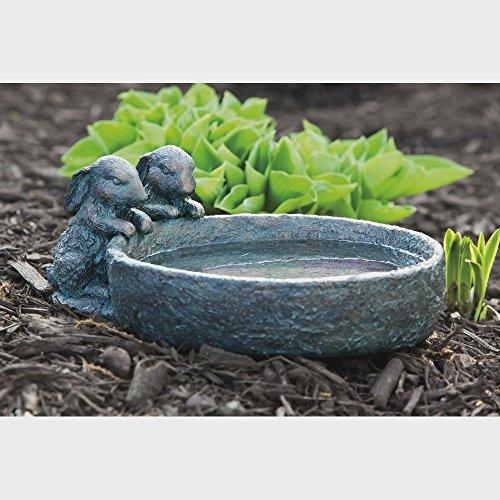 Bunny Bird Bath