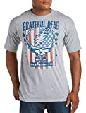 The Grateful Dead-US Blues Big & Tall Short Sleeve Graphic T-Shirt