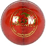 KDM Tiger Leather Ball (Red)