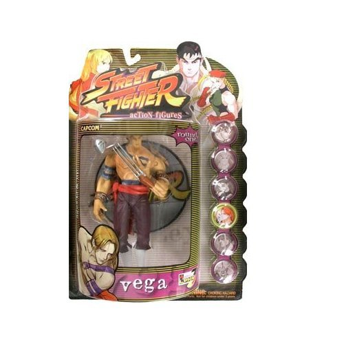 Picture of Resaurus Street Fighter Resaurus Round 1 Vega (Player 1) Action Figure (B001UR6B5A) (Resaurus Action Figures)