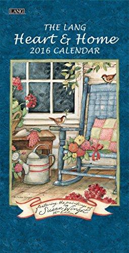 The Lang Heart & Home 2016 Verticle Calendar