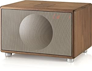 Geneva Sound System Model L All-In-One HiFi System for CD, iPod/iPhone, Radio & More (Walnut)