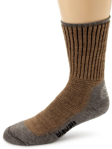 Wigwam Men's Hiking Pro Socks, Khaki/Heather,