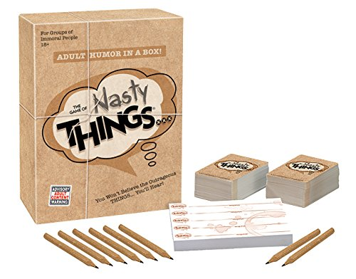 The Game of Nasty THINGS - Adult Humor in a box!