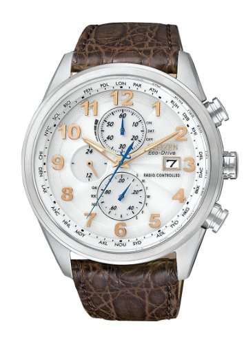 Citizen Men's AT8010-23A Eco-Drive Limited Edition World Chronograph A-T Watch