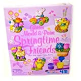 4M Springtime Friends Mould and Paint