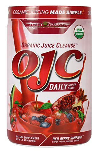 Purity Products - Certified Organic Juice Cleanse (OJC) 8.47oz - Red Berry Suprise - 30 Day Supply (Organic Juice Cleanse compare prices)