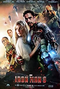 "IR-03 Iron Man 3 (2013) Wall Decoration Movie Poster Size 23.5""x35"""