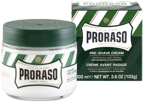 PRORASO Proraso Pre-shave Cream, Refresh, 3.6 Ounce