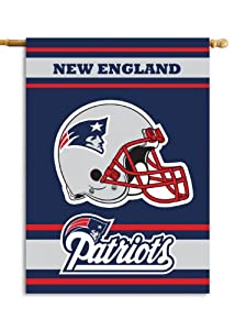 NFL New England Patriots 2-Sided 28-by-40-Inch House Banner by Fremont Die