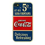 Coca-Cola CCHSIP4G4SS1203 Hard Shell for iPhone 4 / 4S