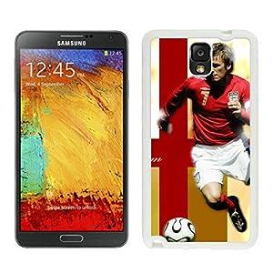 New Zeng David Beckham 12 White Samsung Galaxy Note 3 Screen Cellphone