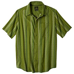 prAna Men's Carillo Tee, Medium, Grass