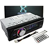 Klarheit Car Single-Din In-Dash USB FM Stereo Radio Receiver MP3 Player AUX Input